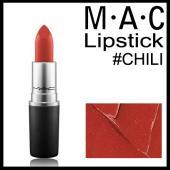 マック リップ スティック #CHILI 3g  豊富なカラーとなめらかなテクスチャーのリップスティ...