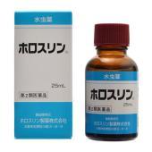 ホロスリンは、皮膚刺激やかぶれ等の副作用が少なくまた、いやなにおいもない無色透明の液剤ですから、手な...