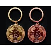 【サイズ】直径:4cm 厚さ:3mm 【 材質】金メッキ鉄 【デザイン】Bitcoinデザイン、両面...