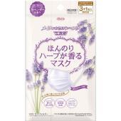 【商品名】 興和新薬 ほんのりハーブが香るマスクラベンダーの香り3+1枚 × 10 点セット 【ジャ...