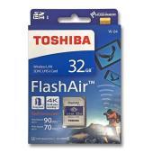 FlashAir 32GB 東芝 無線LAN搭載 SDHCカード TOSHIBA Wiress SD...
