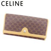 ■管理番号:D1857 【商品説明】 セリーヌ【CELINE】の 長財布です。 定番人気のマカダム☆...