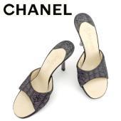 ■管理番号:T6447 【商品説明】 シャネル【CHANEL】の #36 サイズサンダルです。 ◆ラ...