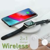 ワイヤレス充電器 qi apple watch 同時充電 iphone apple  充電器 急速充...