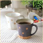 あたたかみのあるカントリー調のデザインマグ。  朝の珈琲、紅茶にぴったりなホッとできるサイズです♪ ...