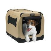 メーカー:スペクトラムジャパン 品番:74863 旅行時に活躍、持ち運べるケージ!小型犬、中型犬向け...