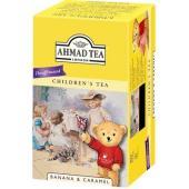 AHMAD デカフェ  紅茶 バナナ&キャラメル ティーバック 20袋  おすすめの飲み方:ストレー...