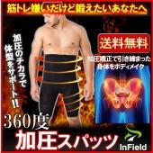 今話題の体のラインが気になる男性のための加圧式メンズ補正下着です。 特殊加工のコンプレッションタイツ...