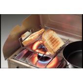トーストやお餅を直火のまま焼くと表面だけ焦げて中まで火が通らないですが、fanマルチロースターを使う...