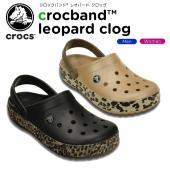 人気のクロックバンドのサイドにレオパード柄が施されたデザイン。「クロスライト」素材を全面に採用し、軽...