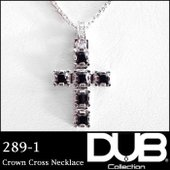 DUB Collection ネックレス Crown Cross Necklace j-289-1 ...