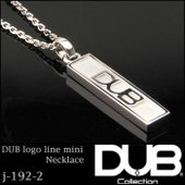 DUB Collection ネックレス DUB logo line mini necklace j...