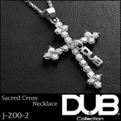 DUB Collection ネックレス Sacred Cross Necklace j-200-2...