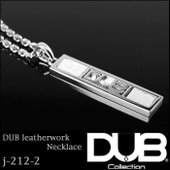 DUB Collection ネックレス DUB leatherwork Necklace j-21...