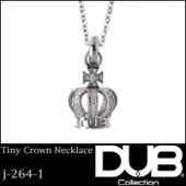DUB Collection ネックレス Tiny Crown Necklace j-264-1 メ...