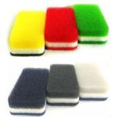 ■1個のサイズ:6.5cm×12.5cm ■素材:ウレタンフォーム・ナイロン不織布(研磨剤入り)・無...