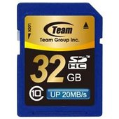 SDカード 32GB class10 秒速最大20MB SDHC TG032G0SD28K TEAM...