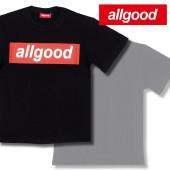 レッドとホワイトの最強カラーリングのBOXロゴプリント!    ブランド ALLGOOD オールグッ...