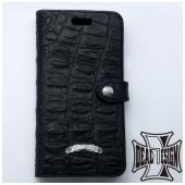 314deb715c メーカー取り寄せ品 ブックiphoneXケース(型押しクロコ) iPhone手帳ケース DEAL DESIGN ディールデザイン