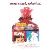 かわいいスノーマンのパッケージに人気のお菓子を詰め込みました。 エクセル福岡オリジナルのお菓子の詰合...
