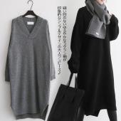 縫い目のないゆるやかなラグラン袖が印象的なシンプルデザインの大人ワンピース♪ デイリーはもちろんきち...