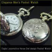 VITAROSOからアンティーク調の懐中時計です。昔懐かしい懐中時計です。  ◆ケース約46mm /...
