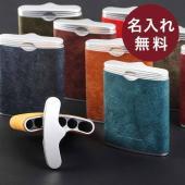 【サイズ】  78x60x18mm  【重さ】  40g  【素材】  革:プエブロ、灰皿本体:AB...