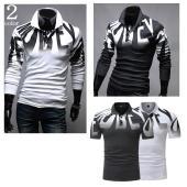 ワンポイントデザインがお洒落な長袖ポロシャツです(^^♪  ■サイズ参考(約cm)着丈/身幅/肩幅/...