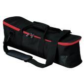 フラットベースタイプのスタンドなど、コンパクトで軽量なハードウェアを運ぶのに最適なバッグ。