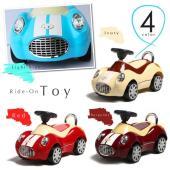 乗用玩具 足けり おもちゃ 車 乗り物 四輪車1歳 2歳 3歳 クラシックカー 子供 幼児 キッズ ...