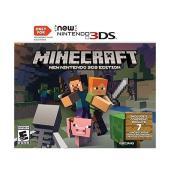Minecraftは、ブロックを置き、冒険を続けるゲームです。新しいNintendo 3DSでのみ再...