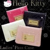 HELLO KITTY ハローキティ 定期入れ パスケース カードケース HK26-7 キティ レデ...