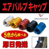 新品 エアバルブキャップ  タイヤバルブキャップ 六角型 汎用品 5色から選べる  カラー:5色から...