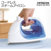 【HITACHI/日立】 コードレス スチーム アイロン シーブルー 高温スチーム対応 CSI-20...