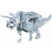 主要部品が全て金属製の恐竜が作れるキット。足や顎などが動かせたり、ソフトアルミ板を使った部品を折り曲...