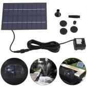 特徴: ソーラーパネルを搭載しポンプから水を噴射します。 ソーラーパネルは、十分な日照受信することが...