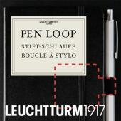 ペンホルダーのない手帳やノートに直接貼付けて使える、その名も「ペンループ」です。ペンを一緒に持ち歩き...