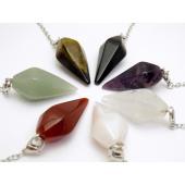 選べる7種類 天然石 ペンデュラム 1個売り パワーストーン ダウジング ヒーリングペンデュラムは「...