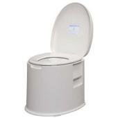 ポータブルトイレ TP-420V ホワイト 機能的で使いやすいシンプルなデザインのポータブルトイレで...