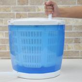 ハンドルをクルクル回すだけのお手軽手動小型洗濯機  手軽に使える小型の洗濯機 電気を使用しないので色...