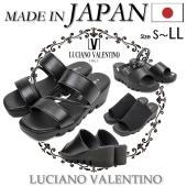 LUCIANO VALENTINO (ルチアノ バレンチノ) がおくる日本製 コンフォートサンダル。...