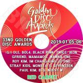 K-POP DVD/33nd 2019 Golden Disk Awards Red Carpet(...