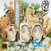 希少な兵庫県相生産、1年牡蠣の殻付き5キロになります。 5キロで約50から60個前後になります。 加...