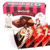 名称 Market O リアルブラウニー    食品類型 チョコレート菓子   内容量 4個(80g...