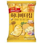 名称 ハニーバターチップ  原材料名 ジャガイモ(アメリカ産)、混合食用油、ハニーバター味シーズ二ン...