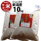 ■商品名■  新潟県産 こしいぶき10kg(5キロ×2) 精米したての美味しさをご自宅に。美味しさそ...