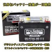 ■メーカー:プロセレクト ■モデル名:DS-PTX4L-BS (YTX4L-BS互換) 小排気量車用...
