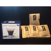 クレバーコーヒードリッパーとシングルオリジンコーヒーが4種(各30g)がセットになった商品です。