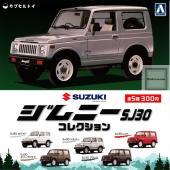 1/64 ジムニーコレクション SJ30 ◆内容: <1>SJ30ホワイト <2>SJ30シルバー ...