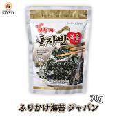 韓国海苔のフレークを甘辛く味付けしてあります。ふりかけや酒の肴、炒めものやサラダのトッピングとしても...